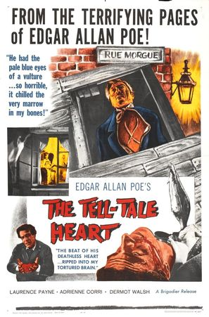The Tell-Tale Heart - Theatrical movie poster (thumbnail)