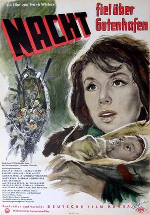 Nacht fiel über Gotenhafen - German Movie Poster (thumbnail)
