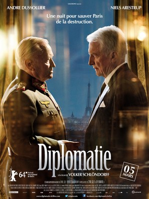 Diplomatie - French Movie Poster (thumbnail)