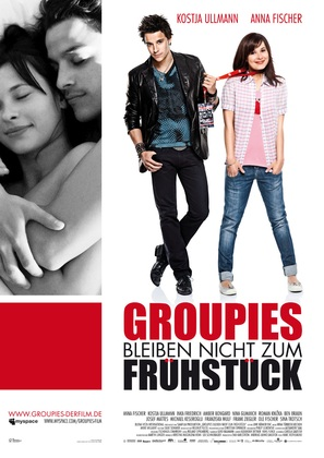 Groupies bleiben nicht zum Frühstück - German Movie Poster (thumbnail)