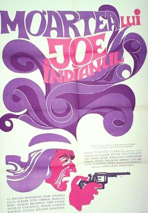 Moartea lui Joe Indianul - Romanian Movie Poster (thumbnail)