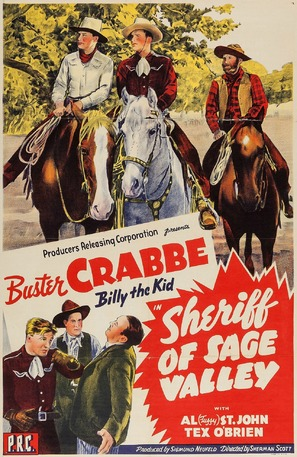 Sheriff of Sage Valley - Movie Poster (thumbnail)