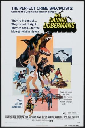 The Daring Dobermans - Movie Poster (thumbnail)