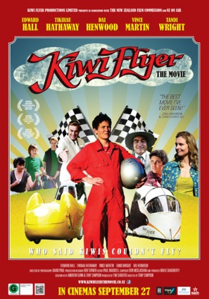 Kiwi Flyer - New Zealand Movie Poster (thumbnail)