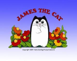 """James the Cat"" - British Movie Poster (thumbnail)"