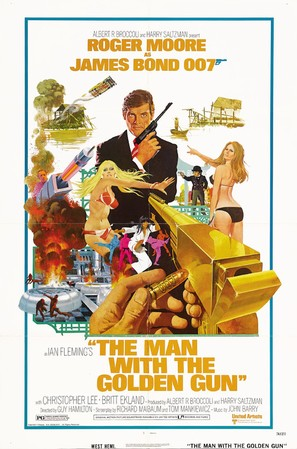 The Man With The Golden Gun - Movie Poster (thumbnail)