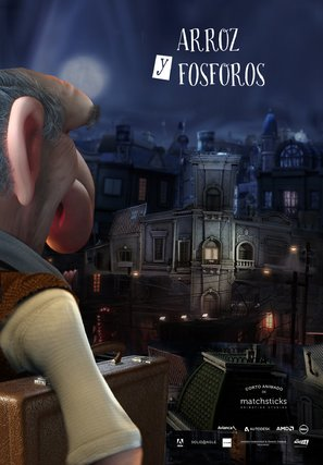 Arroz y fósforos - Argentinian Movie Poster (thumbnail)