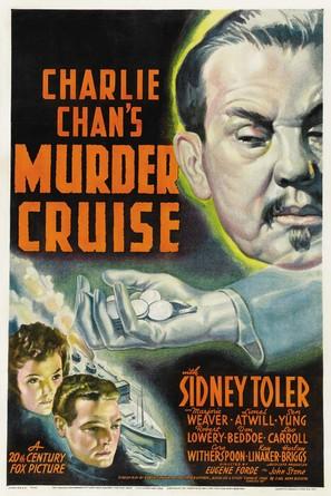 Charlie Chan's Murder Cruise - Movie Poster (thumbnail)