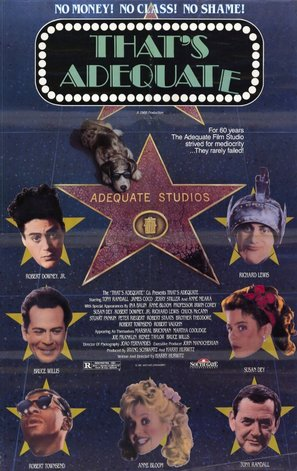 That's Adequate - Movie Poster (thumbnail)