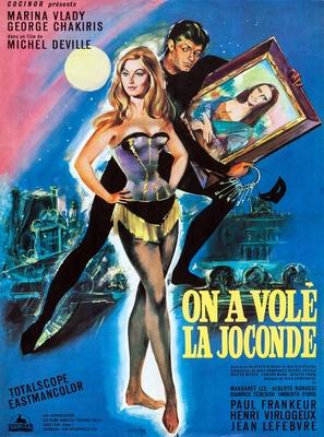 Ladro della Gioconda, Il - French Movie Poster (thumbnail)
