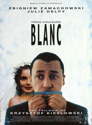 Trzy kolory: Bialy - French Movie Poster (thumbnail)