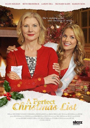 A Perfect Christmas List - Movie Poster (thumbnail)