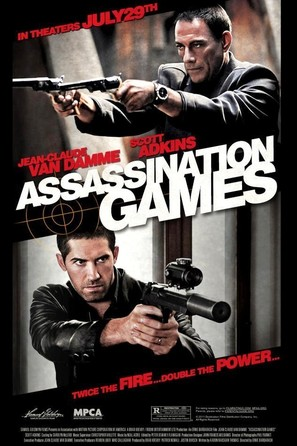 Assassination Games - Movie Poster (thumbnail)