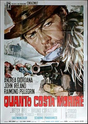 Quanto costa morire - Italian Movie Poster (thumbnail)
