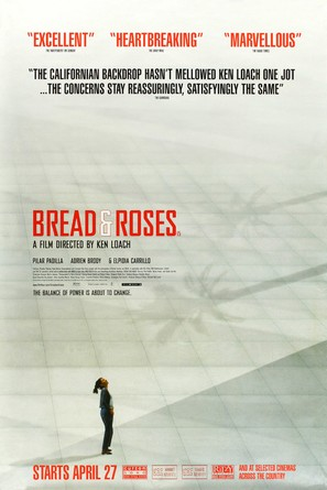 Bread and Roses - British Movie Poster (thumbnail)