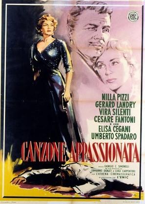 Canzone appassionata - Italian Movie Poster (thumbnail)