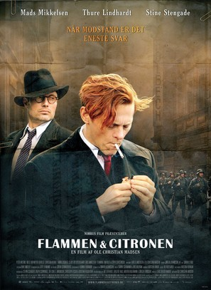 Flammen & Citronen - Danish Movie Poster (thumbnail)