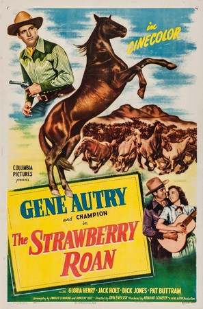 The Strawberry Roan - Movie Poster (thumbnail)