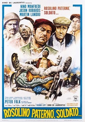 Rosolino Paternò, soldato... - Italian Movie Poster (thumbnail)