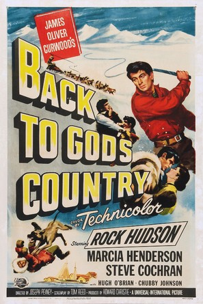 Back to God's Country - Movie Poster (thumbnail)
