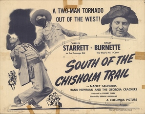 South of the Chisholm Trail - Movie Poster (thumbnail)