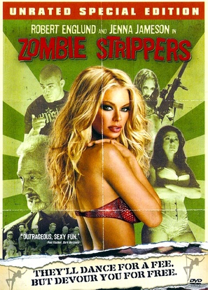 Zombie Strippers - DVD movie cover (thumbnail)