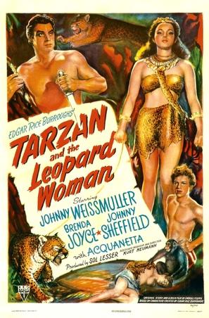 Tarzan and the Leopard Woman - Movie Poster (thumbnail)
