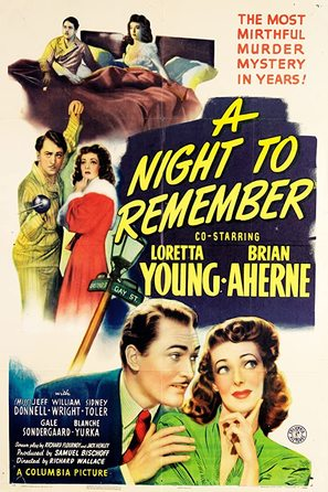 A Night to Remember - Movie Poster (thumbnail)