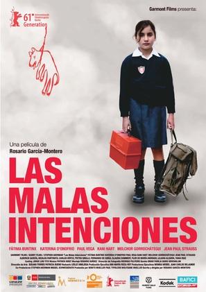 Las malas intenciones - Peruvian Movie Poster (thumbnail)