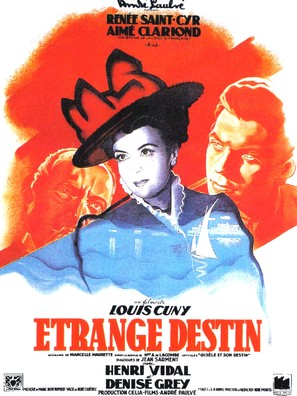 Étrange destin - French Movie Poster (thumbnail)