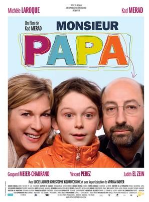 Monsieur Papa - French Movie Poster (thumbnail)
