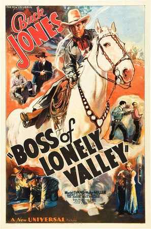 Boss of Lonely Valley - Movie Poster (thumbnail)