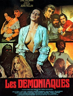 Les dèmoniaques - French Movie Poster (thumbnail)