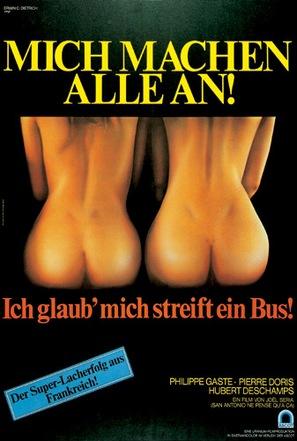San-Antonio ne pense qu'à ça - German Movie Poster (thumbnail)
