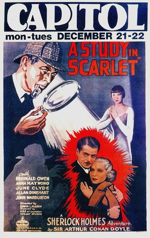 A Study in Scarlet - Movie Poster (thumbnail)