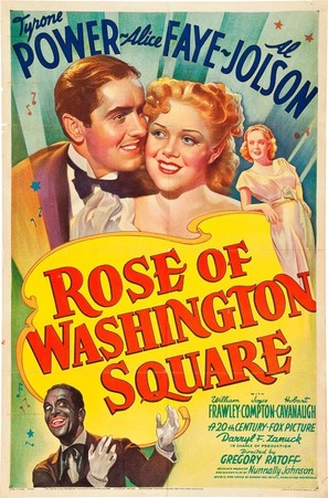 Rose of Washington Square - Movie Poster (thumbnail)