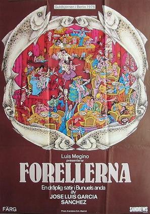 Las truchas - Swedish Movie Poster (thumbnail)