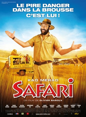 Safari - French Movie Poster (thumbnail)