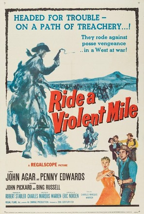 Ride a Violent Mile - Movie Poster (thumbnail)