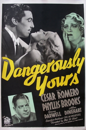 Dangerously Yours - Movie Poster (thumbnail)