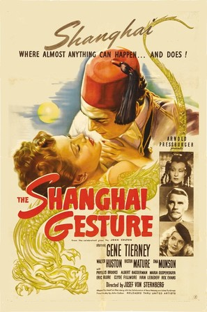 The Shanghai Gesture - Movie Poster (thumbnail)