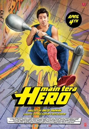 Main Tera Hero - Indian Movie Poster (thumbnail)