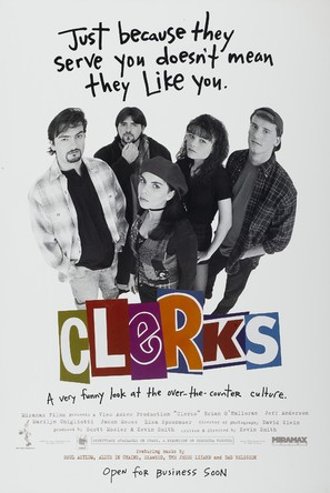 Clerks. - Movie Poster (thumbnail)