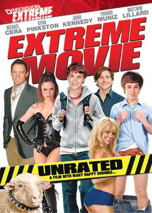 Extreme Movie - British DVD movie cover (thumbnail)