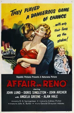 Affair in Reno - Movie Poster (thumbnail)