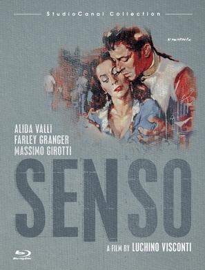 Senso - Blu-Ray movie cover (thumbnail)