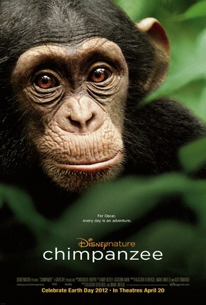 Chimpanzee - Movie Poster (thumbnail)