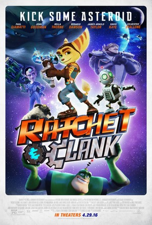 Ratchet and Clank - Movie Poster (thumbnail)