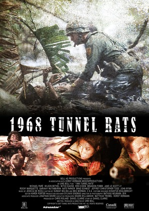 Tunnel Rats - German Movie Poster (thumbnail)