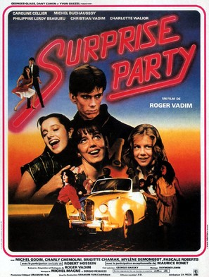 Surprise Party - French Movie Poster (thumbnail)